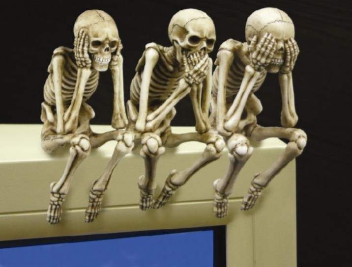 See, Speak and Hear No Evil Shelf Sitters