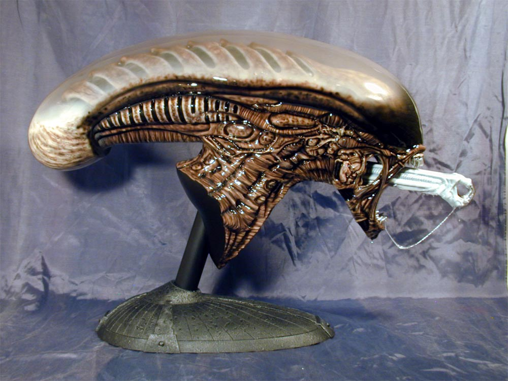 Alien 3 Warrior Life Size Head Replica Model Hobby Kit
