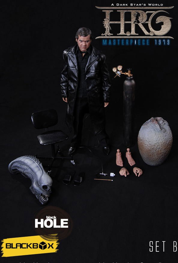 Alien 1979 H.R. Giger 1/6 Scale Masterpiece Figure Version B