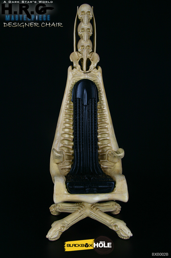 H.R. Giger 1/6 Scale Designer Chair Replica (Skeleton Version)