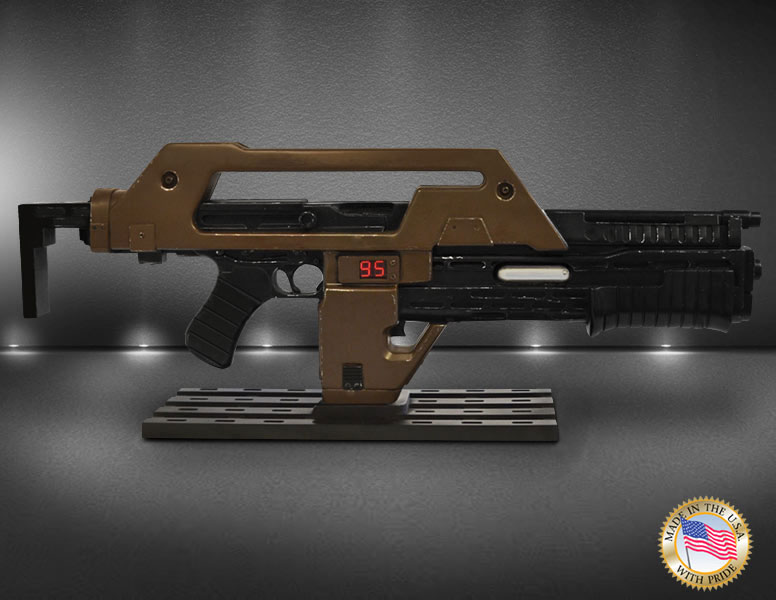 Aliens Pulse Rifle Brown Bess Weathered Version 1/1 Scale Prop Replica LIMITED EDITION