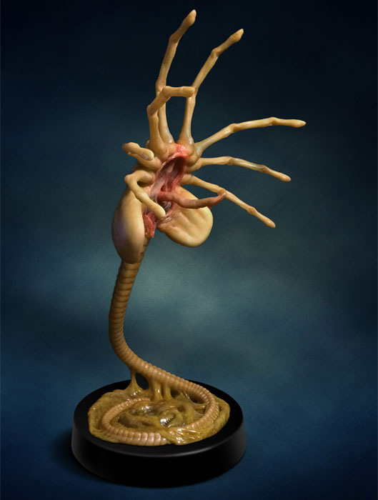 Alien Facehugger Life-Size Replica LIMITED EDITION OF 500 - Click Image to Close