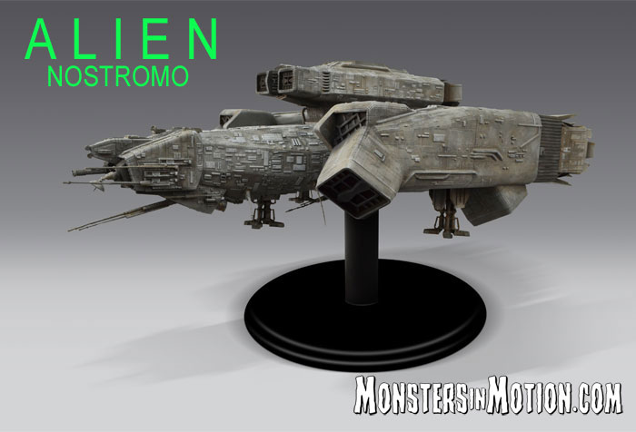 Alien 1979 USCSS Nostromo Large Scale Model Replica