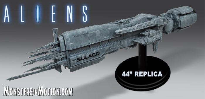 "Aliens Sulaco 44"" Replica Finished Display Model LIMITED EDITION"