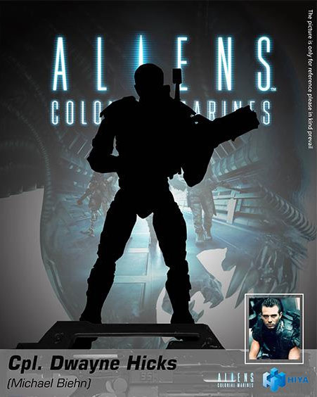 Aliens Colonial Marines Hicks 1:18 Scale Action Figure