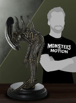 Alien Big Chap 1/3 Scale Statue by Mamegyorai Japan