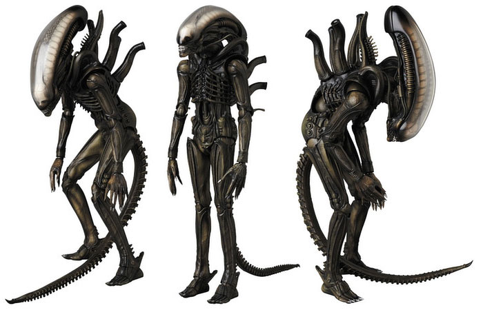 Alien 1979 MAFEX Posable Figure by Medicom