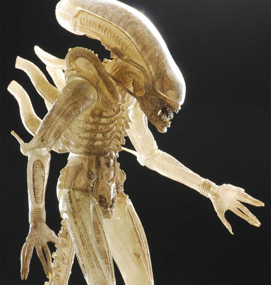 Alien 1/4 Scale Translucent Prototype Suit Action Figure