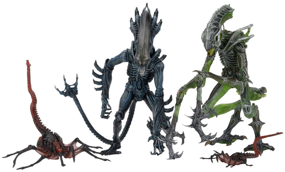 "Aliens 7"" Figures Series 10 Action Figure Set of 3"