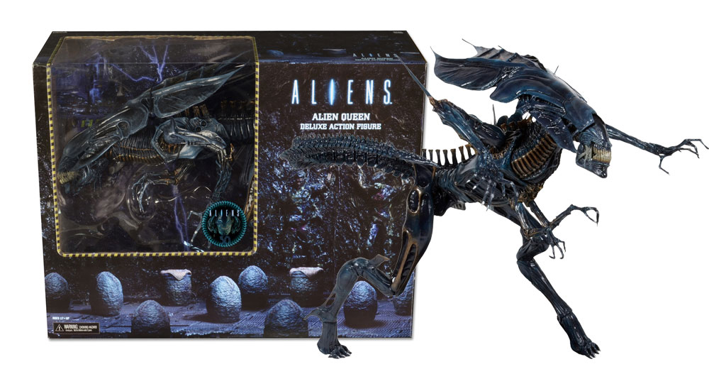 Aliens Alien Queen Ultra Deluxe Boxed 30 Inch Figure New Packaging