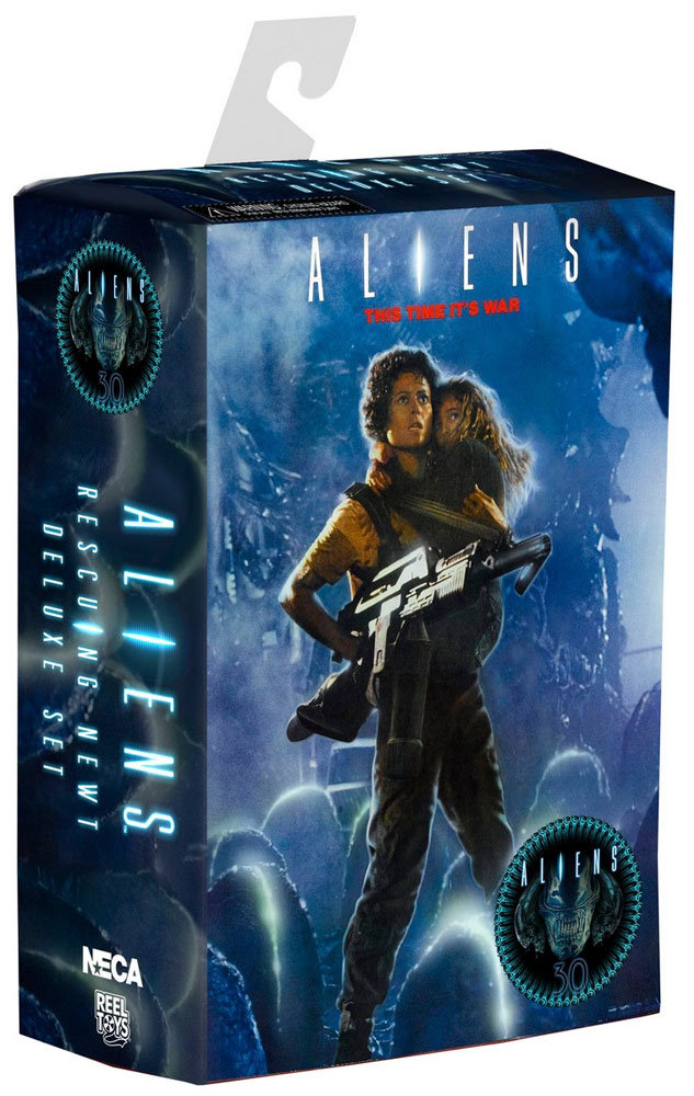 "Aliens 30th Anniversary Ripley and Newt ""Rescuing Newt"" Deluxe Figure 2-Pack"
