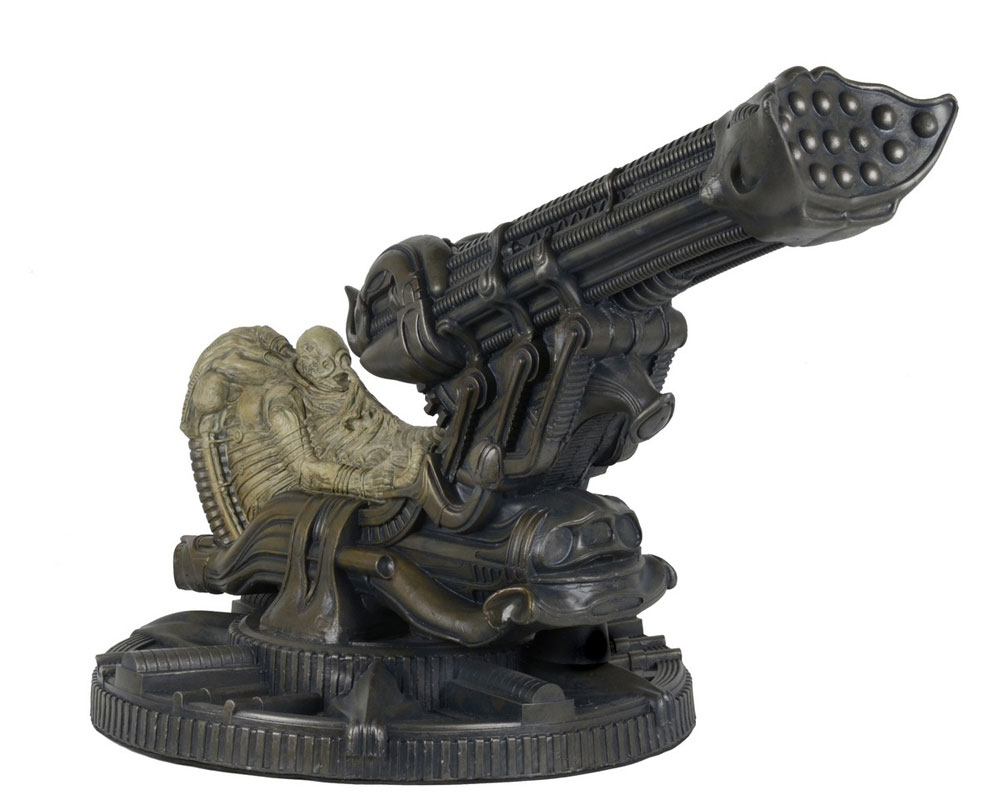 Alien Fossilized Space Jockey Foam Replica H.R Giger