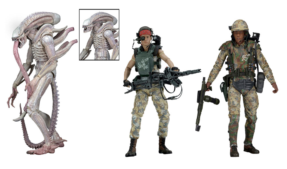 "Aliens 7"" Figures Series 9 Action Figure Set of 3"