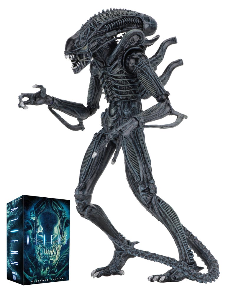 "Aliens Ultimate Alien Warrior BLUE Version 7"" Scale Action Figure"