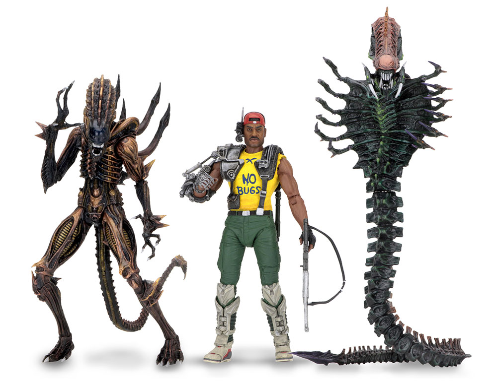 "Aliens 7"" Series Action Figures Series 13 Set of 3"