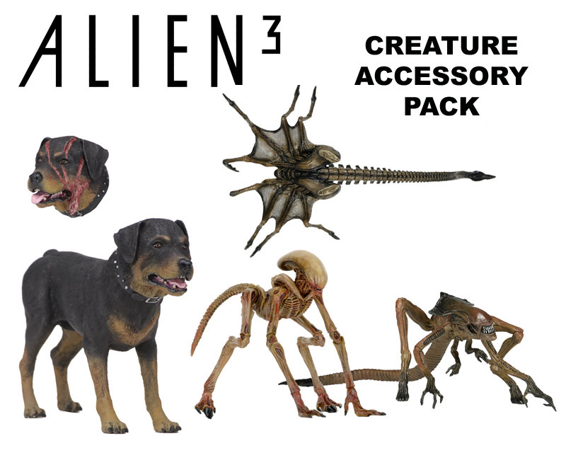 "Alien 3 7"" Scale Figure Creature Accessory Pack"