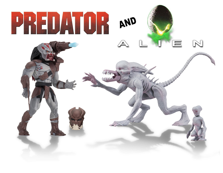Alien and Predator Classics 6-Inch Scale Action Figure Set by Neca