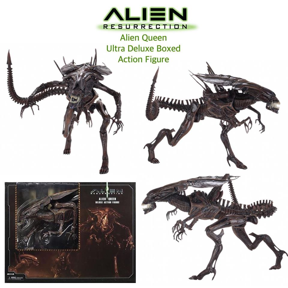 Alien Resurrection Queen Ultra Deluxe Boxed Figure - Click Image to Close