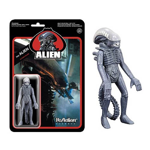 Alien 1979 The Alien Reaction 3 3/4 Inch Retro Kenner Style Figure