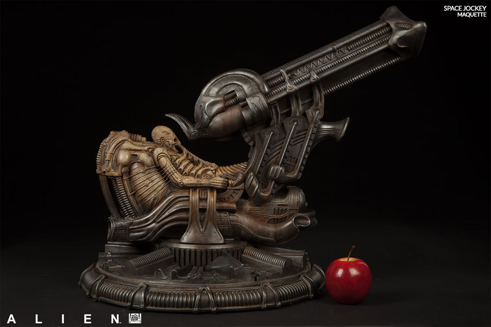 "Alien 1979 Space Jockey 21"" Maquette by Sideshow"