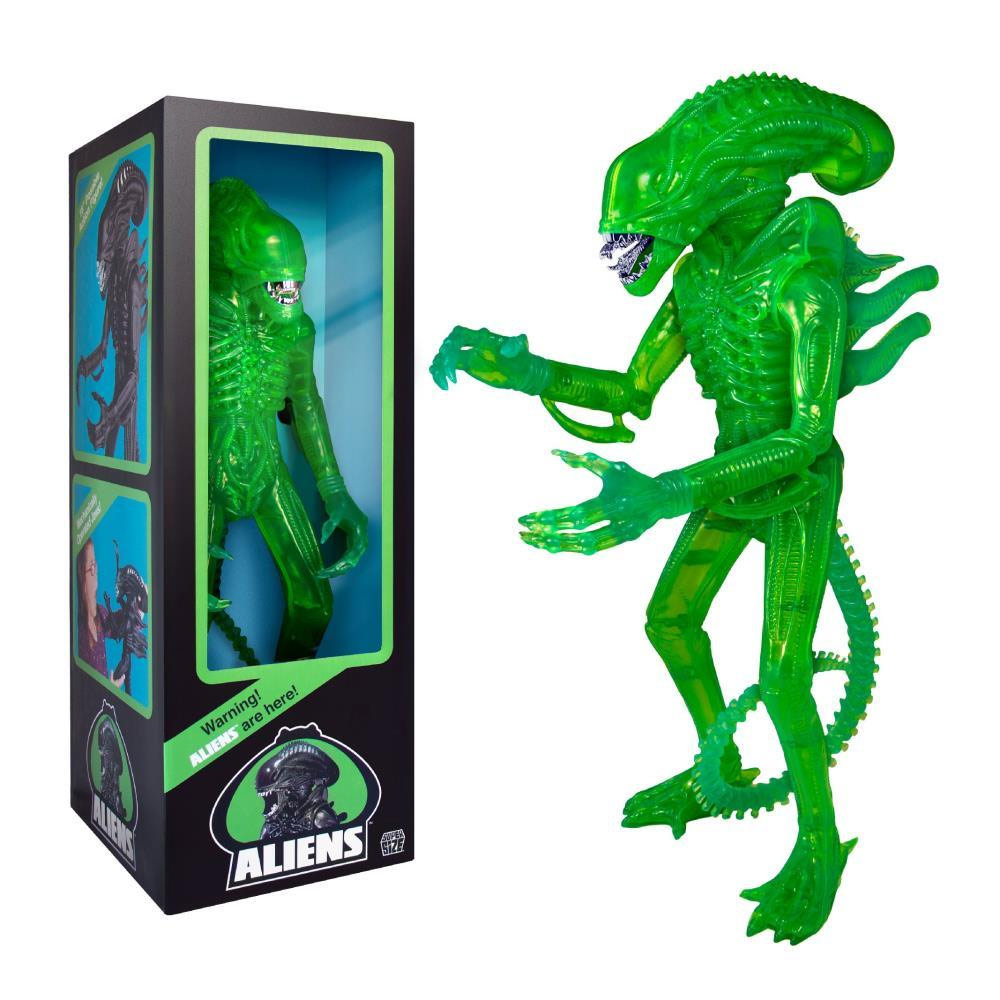 "Aliens Supersize Warrior 18"" Classic Toy Edition (1986) Acid Green"