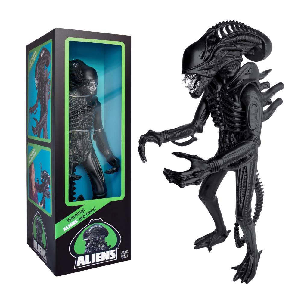"Aliens Supersize Warrior 18"" Classic Toy Edition (1986) Matte Black"