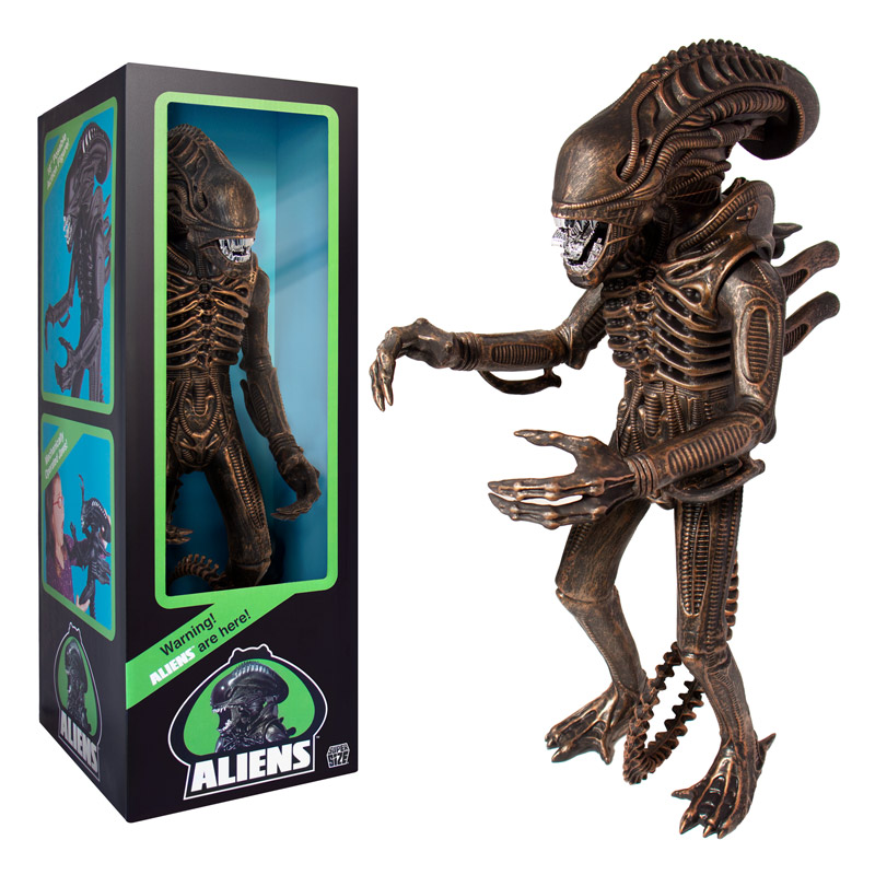 "Aliens Bronze Supersize Warrior 18"" Classic Toy Edition (1986)"