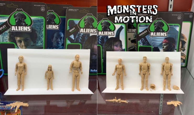 "Aliens Series 1 Set of 9 3.75"" Scale ReAction Action Figures"