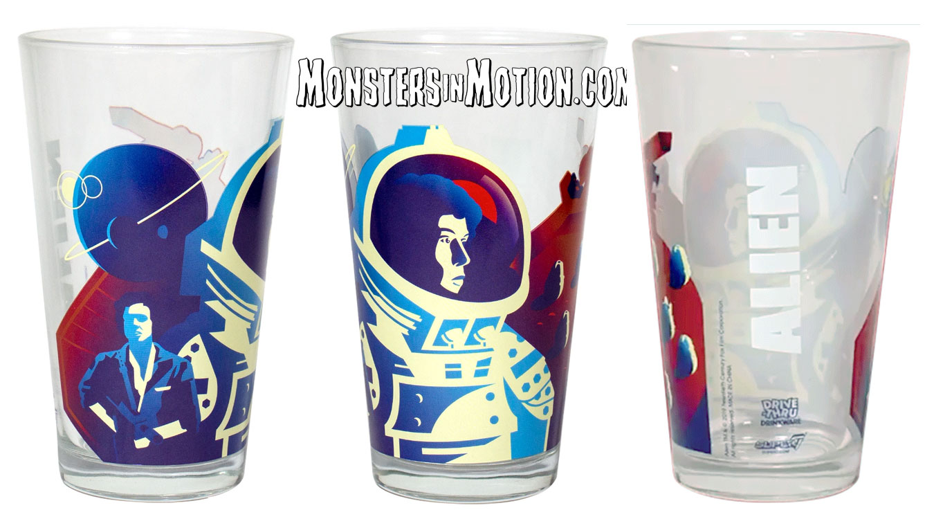 Alien Ripley Drinkware Pint Glass