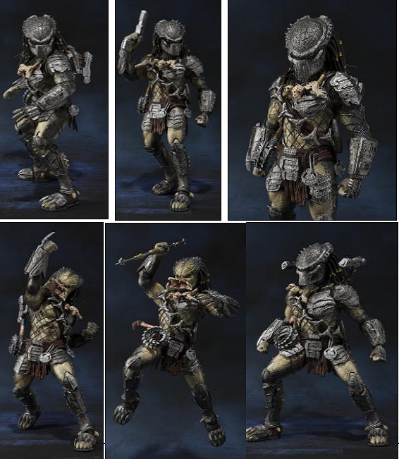 Predator Wolf (Heavy Armed Varsion) AVP S.H. Monster Arts Figure