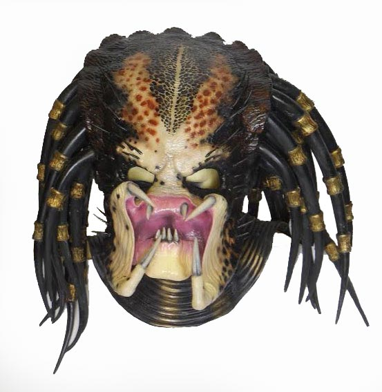 Predator Head Life Size Replica Mask