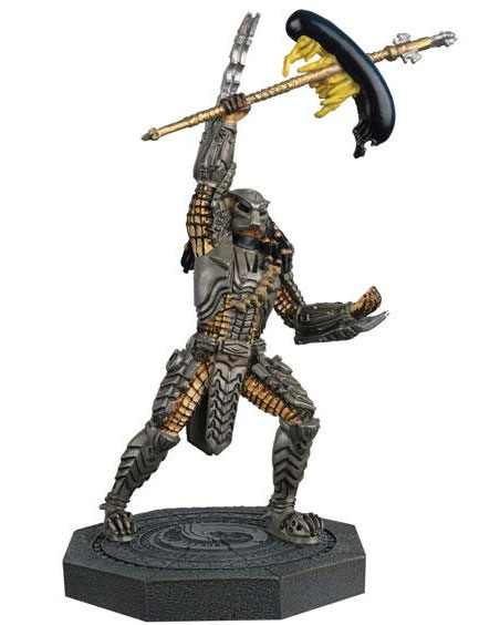 Alien & Predator Figure Collection #002 Scar Predator with Magazine