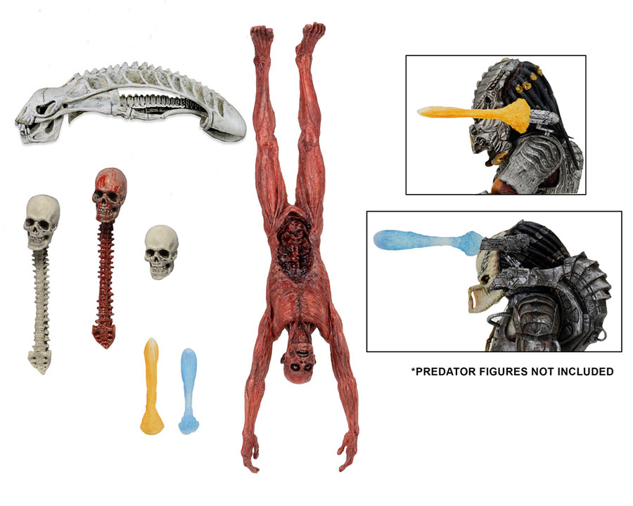 "Predator Deluxe Accessory Pack for 7"" Series Figures"