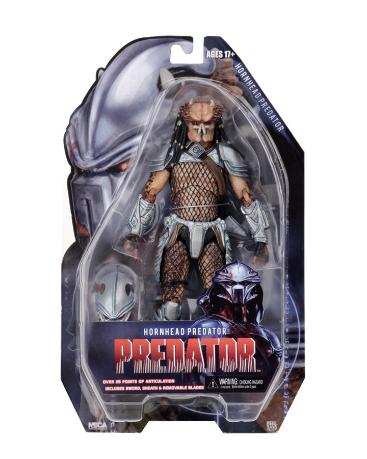 "Predator Hornhead Predator 7"" Scale Action Figure by Neca"