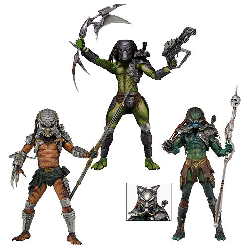 "Predator 8"" Action Figure Set Series 13"