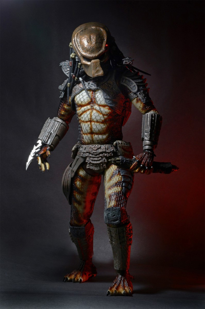 Predator 2 City Hunter Predator 1/4 Scale Figure with Lights