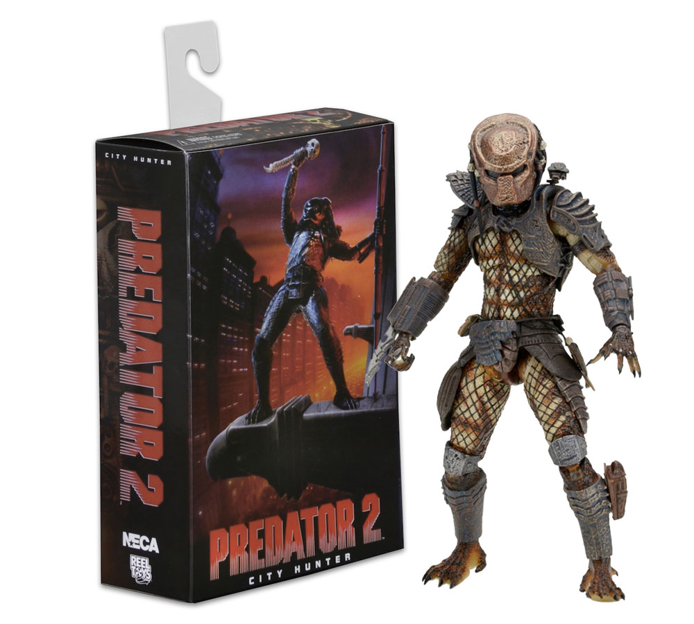 "Predator 2 Ultimate City Hunter 7"" Series Action Figure"