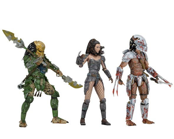 "Predator Series 18 Set of 3 7"" Scale Figures"