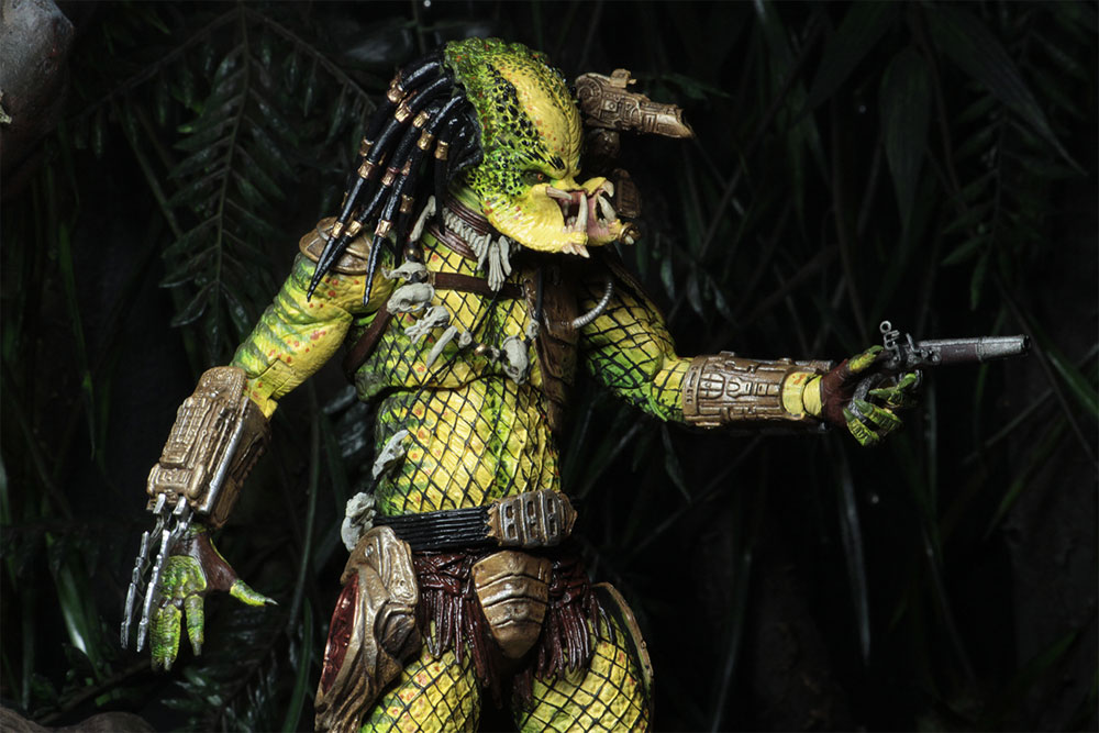 "Predator 2 Ultimate Elder The Golden Angel 7"" Scale Action Figure - Click Image to Close"