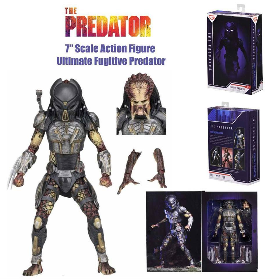 "Predator 2018 Ultimate Fugitive Predator 7"" Scale Figure by Neca"