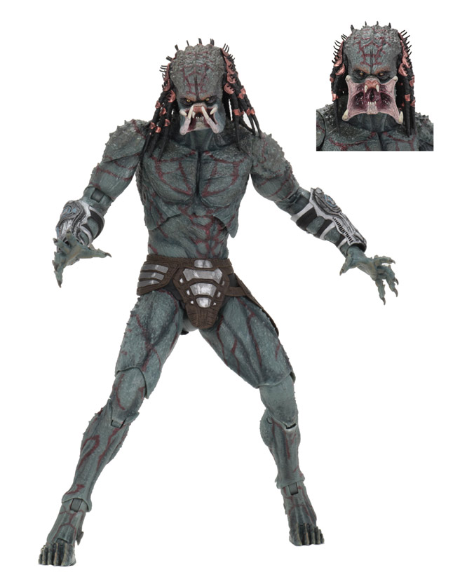 "Predator 2018 Deluxe Armored Assassin 7"" Scale Figure"