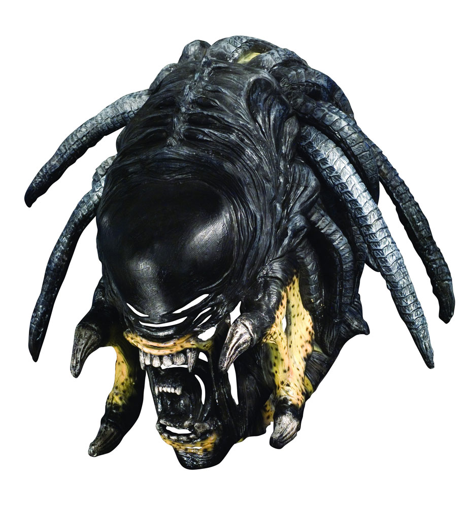 Alien Vs. Predator Predalien Deluxe Adult Overhead Latex Mask