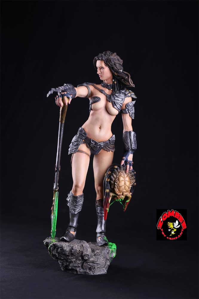 Predator Hunter 1/4 Scale Resin Model Kit LIMITED EDITION by Zombee