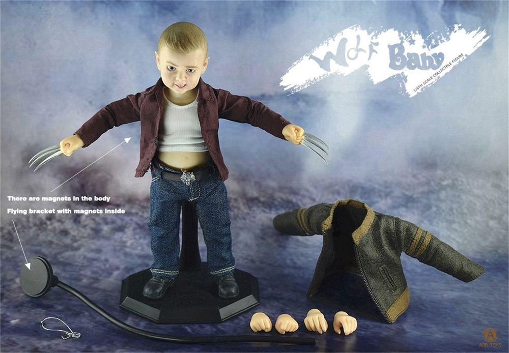 Wolf Baby Hero Baby Series 1/6 Scale Figure by ADD Toys