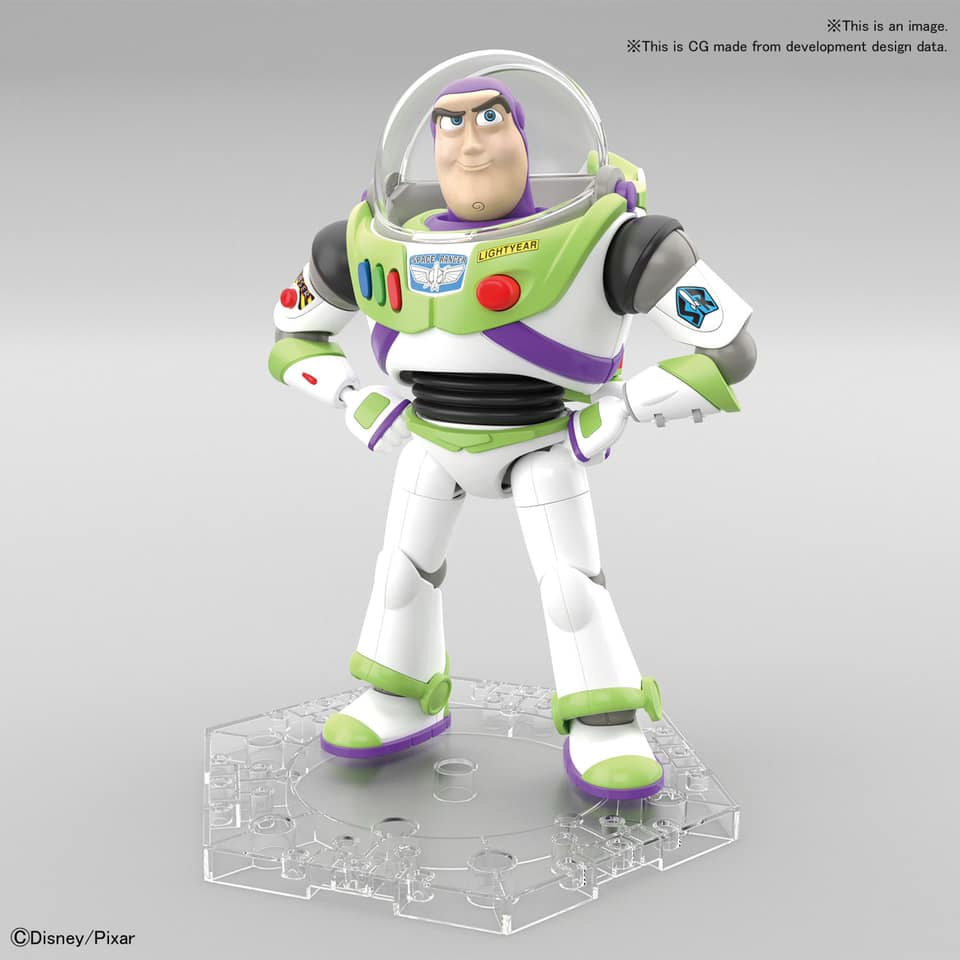 Toy Story Buzz Lightyear Cinema-Rise Model Kit by Bandai Japan