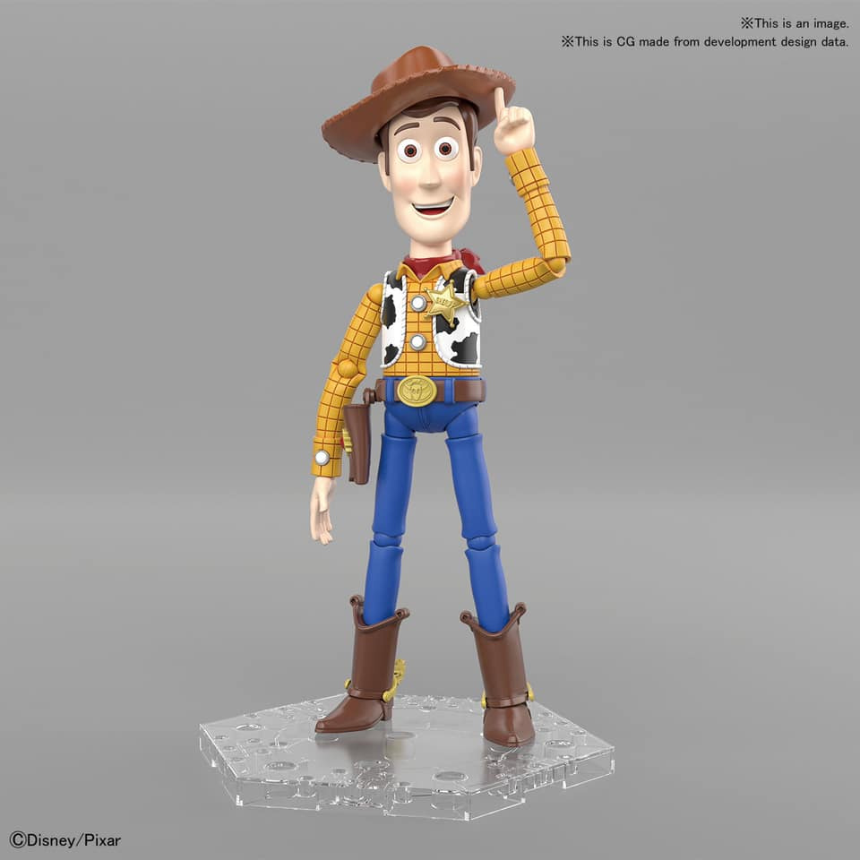 Toy Story Woody Cinema-Rise Model Kit by Bandai Japan