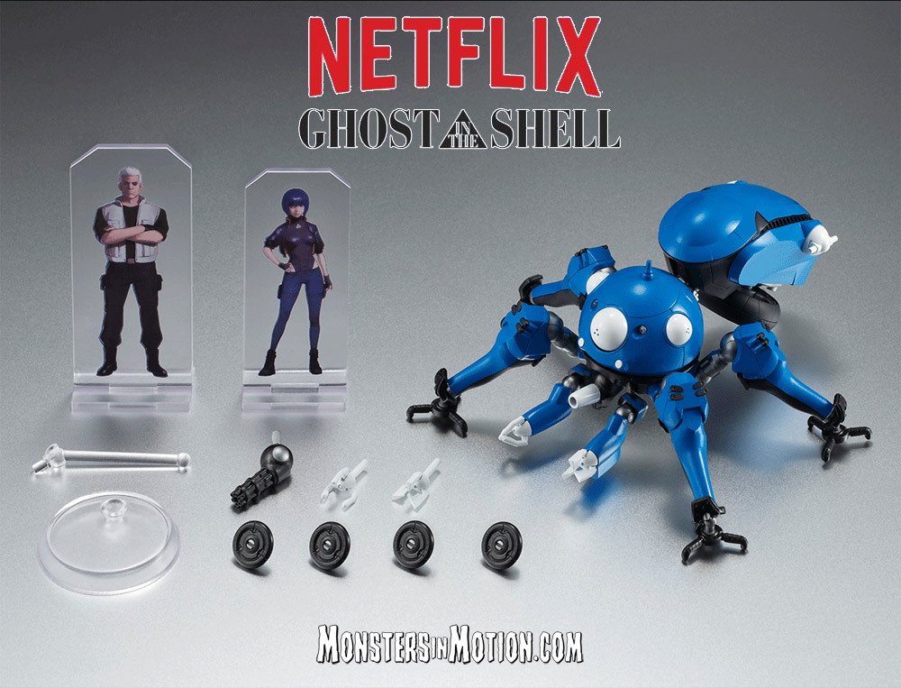 Ghost In The Shell Stand Alone Complex 2045 Tachikoma Vehicle Replica With Figure Plates 021ba202 67 99 Monsters In Motion Movie Tv Collectibles Model Hobby Kits Action Figures Monsters In Motion
