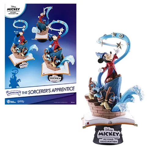 Mickey Mouse Sorcerer's Apprentice DS-018 Dream-Select Series 6-Inch Statue