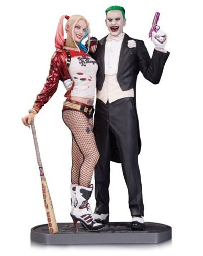 Suicide Squad Joker and Harley Quinn 1/6 Scale Statue