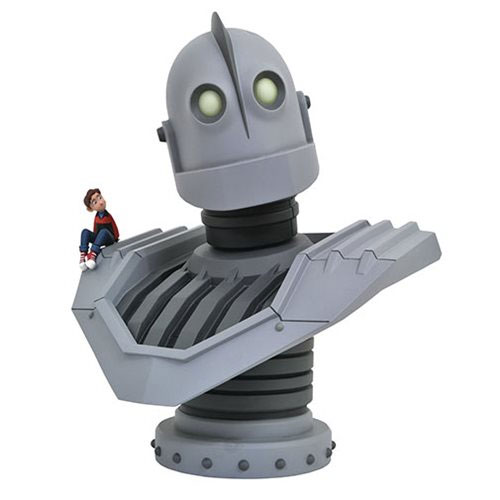 Iron Giant Legends in 3D Resin Bust LIMITED EDITION